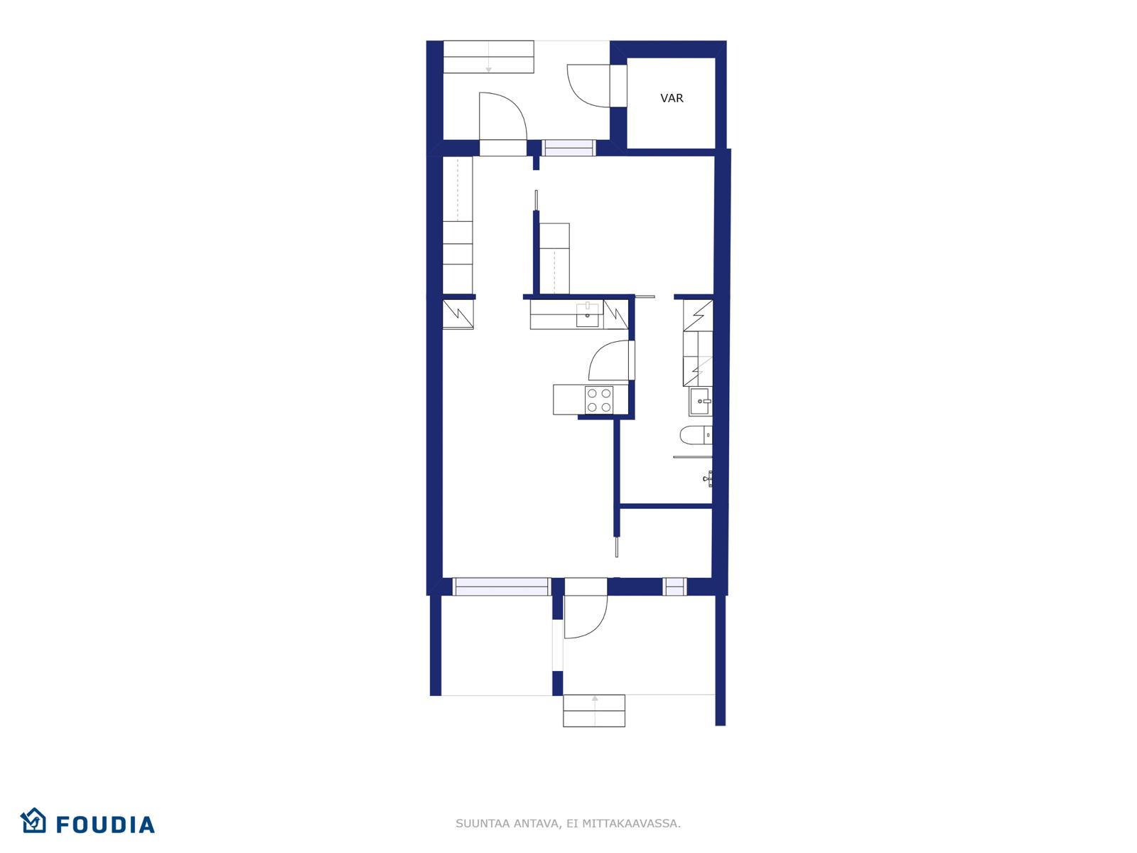 Rakennus P. Lehmonen Oy - Salosenmutka, As. b2